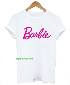 barbie letter t shirt thd