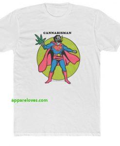 cannabis man t-shirt THD