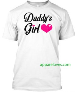 daddy s girl t shirt Daddy's Girl Cute thd
