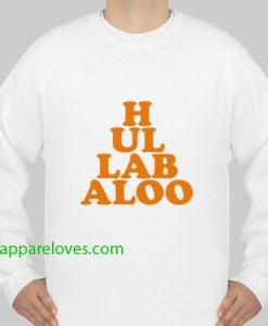 hullabaloo sweatshirt thd