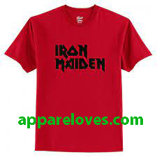 iron maiden t shirt thd