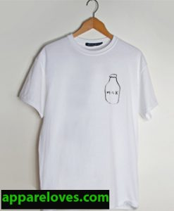 milk bottle boy T SHIRT THD