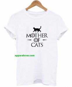 mother of cats t shirt thd