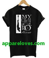 my camucal romance t shirt thd