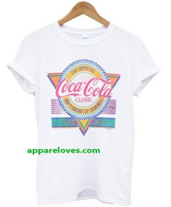 the official coca cola classic soft drink of summer t-shirt THD