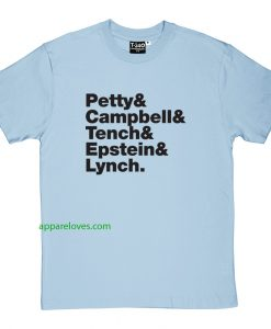 tom petty and the heartbreakers tshirt thd