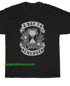 A Day To Remember Hourglass T Shirt thd