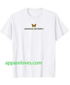 Antisocial Butterfly Aesthetic t shiurt thd