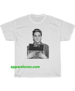 Elvis Presley Army Mugshot T-Shirt THD