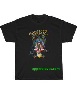 Gorillaz Band Unisex T Shirt thd
