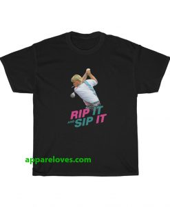 John Daly Rip It And Sip It T-Shirt THD
