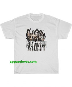 KISS Led Zeppelin Parody T-Shirt thd
