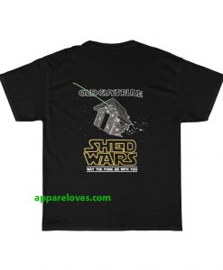 Old Guys Rule shed wars T-shirt(back)thd