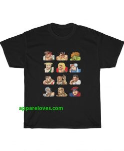 Street Fighter Losing Face T-shirt thd