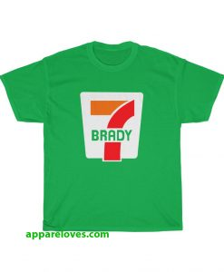 Tom Brady 7-Eleven Patriots Super Bowl T-Shirt thd