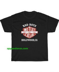 Vintage Motley Crue Bad Boys T-Shirt thd