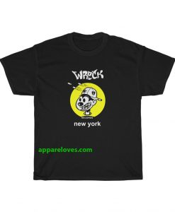 Wreck Nervous records new york 90's T Shirt THD
