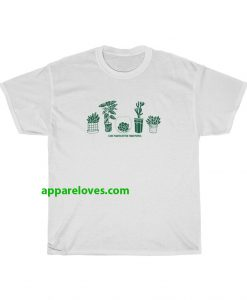i like plant better than people t-shirt thd