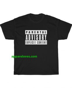 parental advisory black t-shirt thd